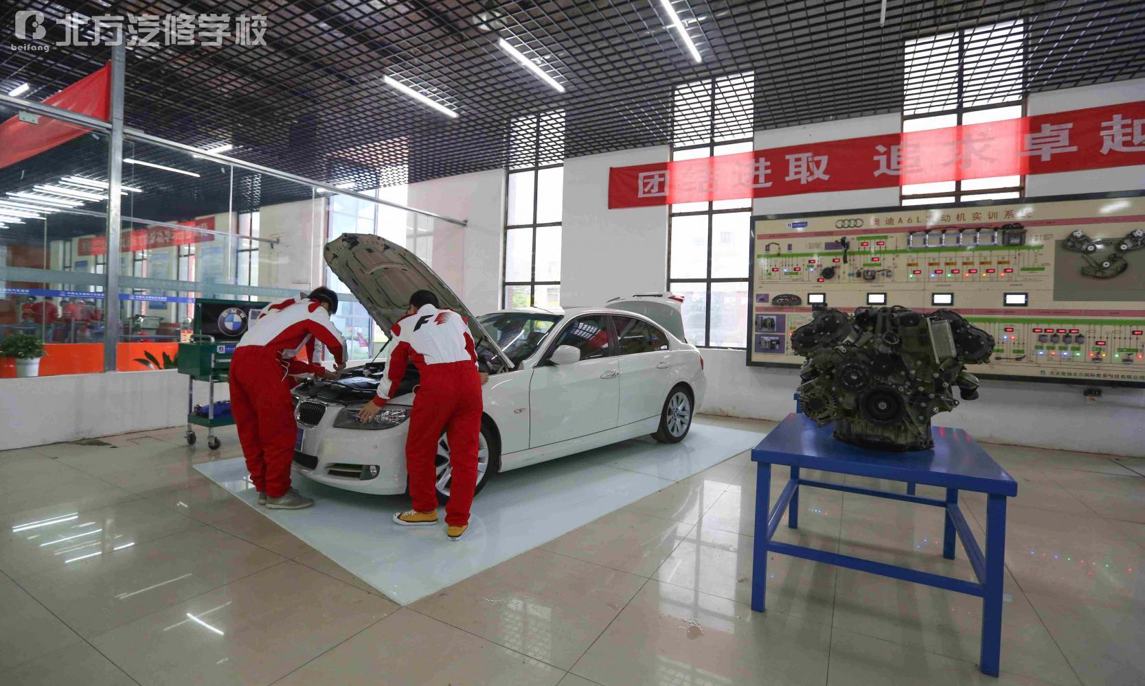 汽车发动机底盘维修设备