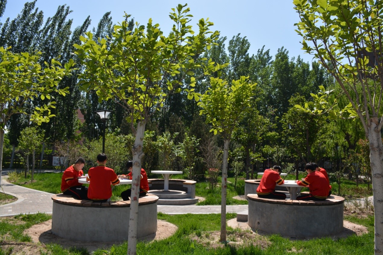 一流的校园环境 促进学生全面发展