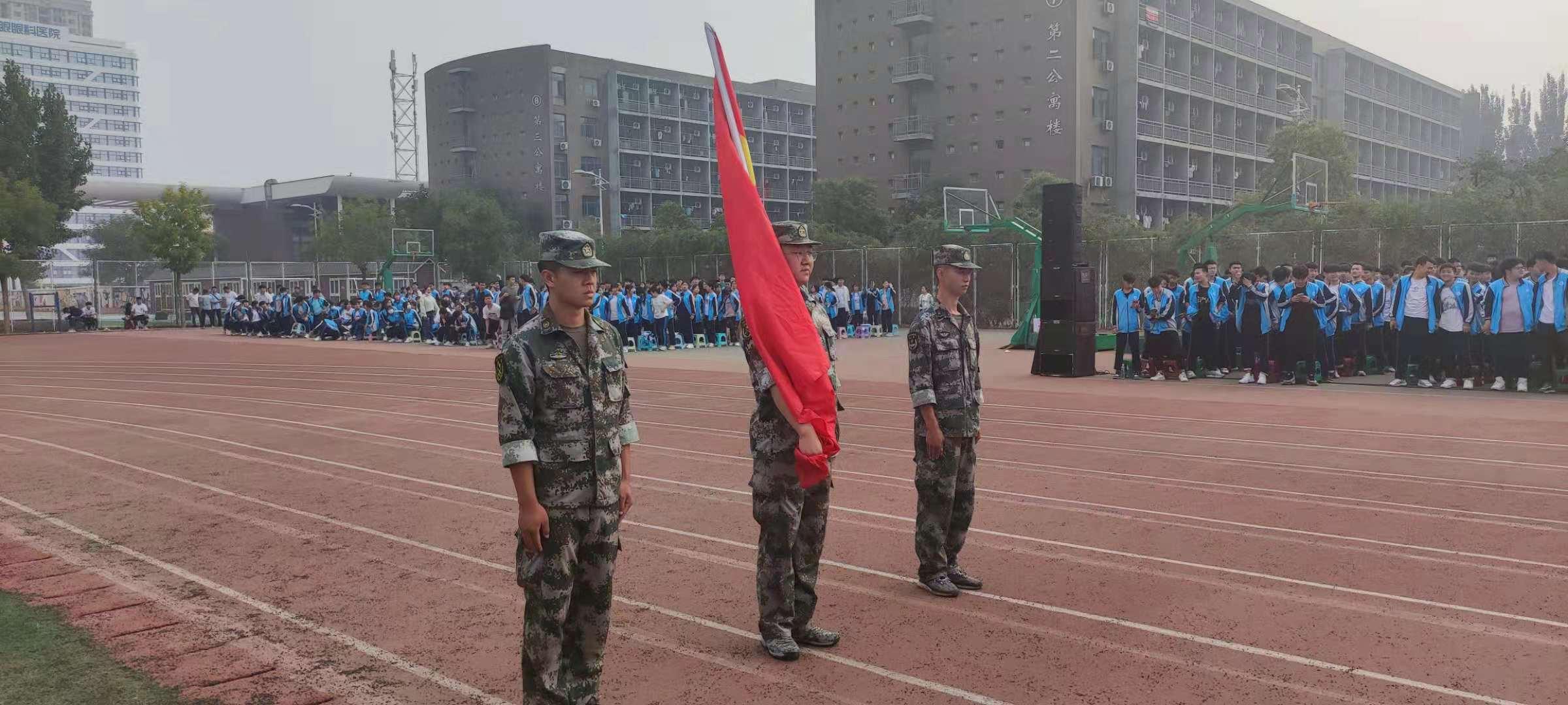 邯郸北方汽修学校军训汇演