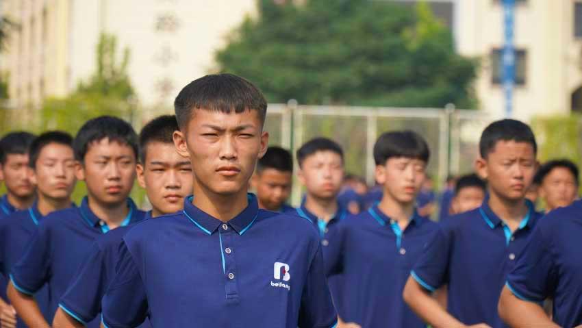 邯郸北方学校军训